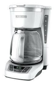 Black And Decker 12 Cup Coffee Maker Programmable Coffeemaker With Glass Carafe Washable Basket