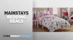 Walmart Top Cyber Monday Mainstays Bedding Deals Mainstays Kids