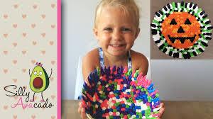 Halloween Perler Bead Patterns by Diy Melted Perler Beads Bowl Make An Easy Jack O Lantern