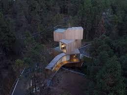 100 Tree House Studio Wood Bengo Qiyunshan Hotel 4 A F A S I A