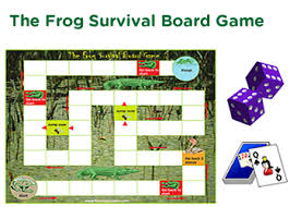 Frog Survival Board Game