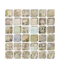 100 Wallflower Designs Paper Stash 36 Pages JOANN