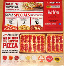 Pizza Hut Menu Near Me