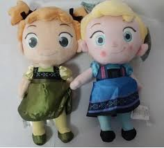 Baby Elsa And Anna New Really Girl Frozen Dolls Inch Toy Doll Action