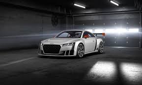 600 HP Audi TT Clubsport Brings 2 5 TFSI with Electric Turbo to