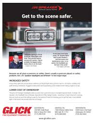 100 Fire Lights For Trucks LED Headlights Retrofit Glick Equipment Company