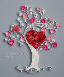 Beautiful Idea Quilling Wall Art Decoration Modern Hanging With Paper For