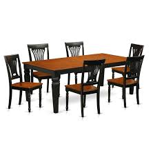 Amazon.com: East West Furniture LGPL7-BCH-W 7 PC Kitchen Table Set ... Vintage Kitchen Table And Chairs Set House Architecture Design Shop Greyson Living Malone 70inch Marble Top Ding Westlake Transitional Cherry Wood Pvc Leg W6 The 85ft W 6 Forgotten Fniture Homesullivan 5piece Antique White And 401393w48 Plav7whiw Rubberwood 7piece Room Free Shipping Cerille Rustic Brown Of 2 By Foa Amazoncom America Bernette Round East West Niwe6bchw Pc Table Set With A
