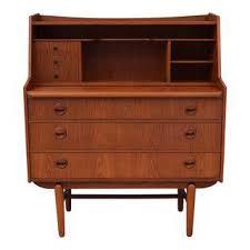vintage used mid century modern secretary desks chairish