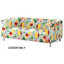 Klippan Sofa Cover Singapore by Ikea Cover Klippan 2 Seat Loveseat Couch Sofa Glottra Multicolor