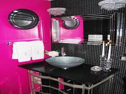 black and pink bathroom accessories bathok