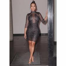popular black long see through dress buy cheap black long see