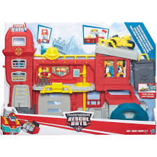 100 Rescue Bots Fire Truck Hasbro Playskool Heroes Transformers Griffin Rock