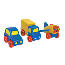 100 Melissa And Doug Trucks Deluxe Wooden First Vehicles Set With Truck Car And