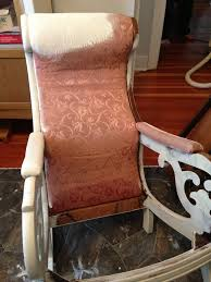 Painting The Fabric On An Antique Rocker   A French Touch Archive Sarah Jane Hemsley Upholstery Traditional The Perfect Best Of Rocking Chairs On Fixer Upper Pic Uniquely Grace Illustrated 3d Chair Chalk Painted Fabric Makeover Shabby Paints Oak Wax Garden Feet Rancho Drop Cucamonga Spray Paint Wicked Diy Thrift Store Ding Macro Strong Llc Pating Fabric With Chalk Paint Diytasured Childs Rocking Chair Painted In Multi Colors Decoupaged Layering Farmhouse Look Annie Sloan In Duck Egg Blue With Chalk Paint Rocking Chair Makeover Easy Tutorial For Beginners