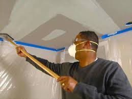 Hanging Drywall On Ceiling Or Walls First by How To Drywall A Ceiling How Tos Diy