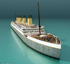 Ship Simulator Titanic Sinking 1912 by Full Size Titanic Replica Takes Shape At Chinese Park Daily Mail