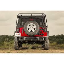 Jeep Jk Rugged Ridge Floor Liners by Rugged Ridge 11544 51 Spartacus Rear Bumper Black 07 16 Jeep