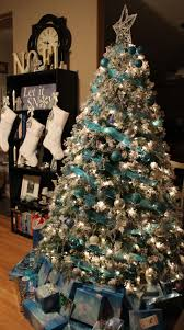 Shopko Christmas Tree Toppers by Turquoise Blue White U0026 Silver Christmas Tree Would Rather