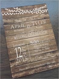 Rustic Barn Country Fall Wood Background By CCPrintsbyTabitha Wedding Invitation