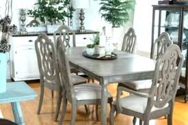 Painted Dining Room Furniture Table Chalk Paint