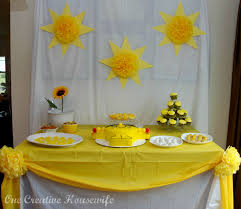 Simple Birthday Table Decorations