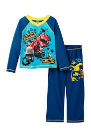 100 Monster Truck Pajamas Komar Dino Trux Boom Nailed It Pajama Set Toddler Boys