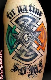 Irish Firefighter Tattoo Instead Of Masonry Symbolism Star Life