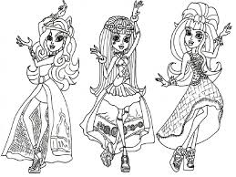 Monster High Coloring Pages Htm Web Photo Gallery Pdf
