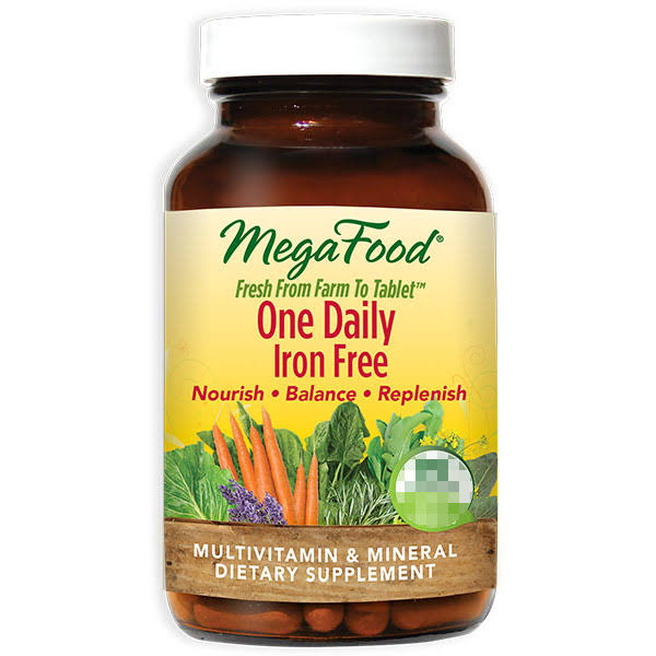 MegaFood - One Daily Iron Free - 60 Tablets