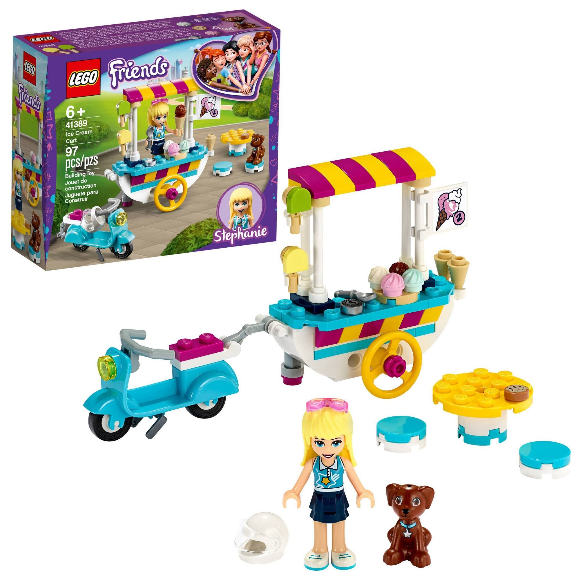 Lego Friends - Ice Cream Cart 41389