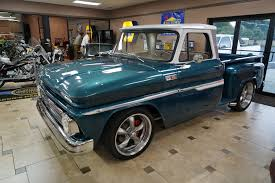 1965 Chevrolet C10   Ideal Classic Cars LLC 1965 Chevy Truck Chevy C10 Pickup Rat Rod Truck Photo 1 Curbside Classic Chevrolet C60 Maybe Ipdent Front With 18x8 And 18x9 Torq Thrust Ii Find Of The Week Ford F350 Car Hauler Autotraderca Custom Deluxe For Sale 9098 Dyler 135931 Rk Motors Cars Fuel Injected Restomod Youtube Buildup Truckin Magazine For In Bc 350 Small Block This Simple Packs A Big Secret Under Hood