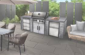 die outdoorküche für das wohnzimmer im garten