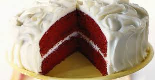 rote schokoladentorte velvet cake