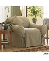 Sure Fit Folding Chair Slipcovers by Spring Sales On Sure Fit Cotton Duck Folding Chair Slipcover