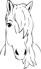 Coloring Horse Head Pages Com 3 Or This Is Page Pictures Realistic Free