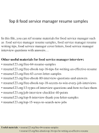 Top 8 Food Service Manager Resume Samples 85 Hospital Food Service Resume Samples Jribescom And Beverage Cover Letter Best Of Sver Sample Services Examples Professional Manager Client For Resume Samples Hudsonhsme Example Writing Tips Genius How To Write Personal Essay Scholarships And 10 Food Service Mplates Payment Format 910 Director Mysafetglovescom Rumes