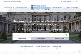 archives nationales la salle des inventaires virtuelle fait peau