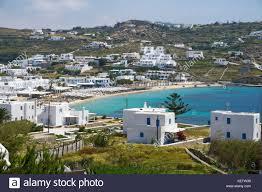 Typical Greek House On Kokkari Beach Samos Island Greece Stock