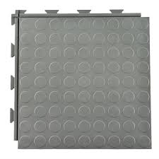 warehouse hiddenlock coin tile garage flooring