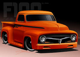 55_f100_by_jaysdesigns | Custom Trucks And Cars - For Tobie ... Old American Blue Pickup Truck Vector Illustration Of Two Cartoon Vintage Pickup Truck Outline Drawings One Red And Blue Icon Cartoon Stock Juliarstudio 146053963 Cattle Car Farming Delivery Riding Car Royalty Free Image Cute Driving With A Christmas Tree Art Isolated On Trucks Download Clip On 3 3d Model 15 Obj Oth Max Fbx 3ds Free3d White Background