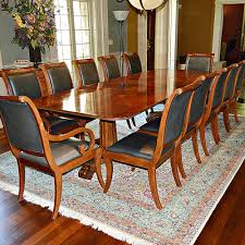 Magnificent Henredon Regency Style Dining Table And Twelve, Henredon ... Henredon Table And Chairs Blog Capelle Chairside Underthamesky Pair Of Vintage Asian Style Accent Wmarbelized 1970s Burlcain Wood Ding Set 6 All Fniture Mid Century Princsantiquesnet Campaign Chifforobe Brass Pecan Storage Cabinet Chromcraft Game With Casters Dinette Sets Sold Out Henredon Chinoiserie Black Lacquer Cane Seat French Country Oak Etsy Louis Collection Chair H770328
