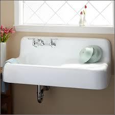 Farmhouse Sink With Drainboard And Backsplash by Kitchen White Apron Sink Kitchen Sink With Drainboard