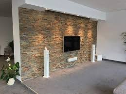 10 m natursteinwand riemchen schiefer verblender grau