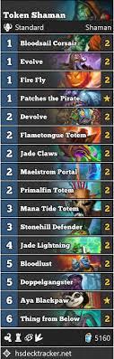 evolution shaman s best deck in standard hearthstone dot esports