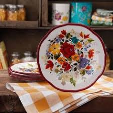 The MarkPioneer Mark MarkWoman Timeless Floral Salad Plate Set Find This Pin And More On Things For Home