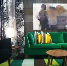 This Couch IKEA Stockholm Green Velvet Swoon