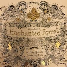 New Johanna Basford Enchanted Forest Coloring Book