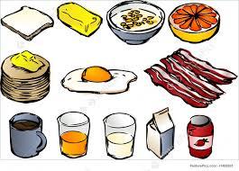 Illustration Of Breakfast Clipart