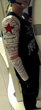 Winter Soldier Arm Tattoo Pictures To Pin On Pinterest